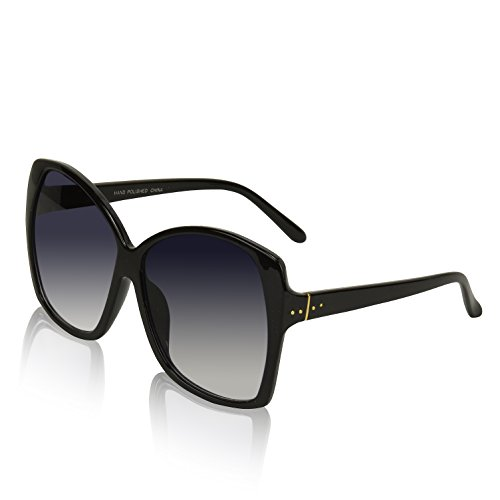 ro Sunglasses Woman Trendy Stylish Celebrity Fashion Black G ()