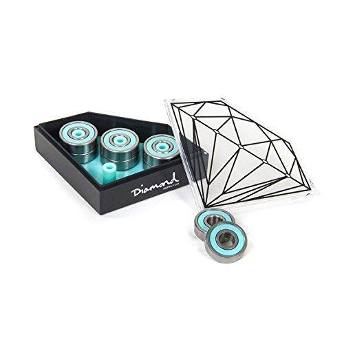 Diamond Smoke Rings Bearings 1set Skateboarding Bearings by Diamond by Diamond