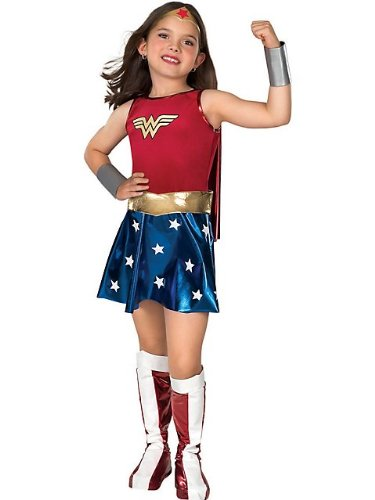 Rubies Superhero DC Heroes Wonder Woman Costume