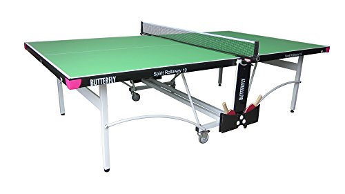 Butterfly Spirit 19 Table Tennis Table - 3 Year Warranty - Racket and Ball Holder - Net Included