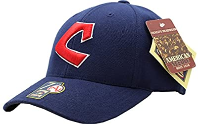 Cleveland Indians 1975 Retro Wool Fitted Cap