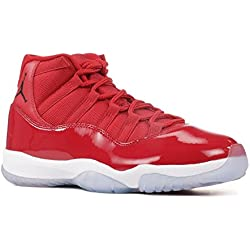 Jordan Men's Air 11 Retro, Gym Red/Black-White, 8.5 M US