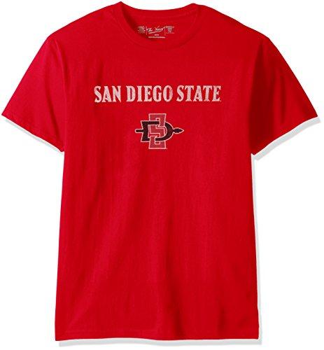 Original Retro Brand NCAA San Diego State Aztecs Men's Victory Vintage Tee, Medium, ()