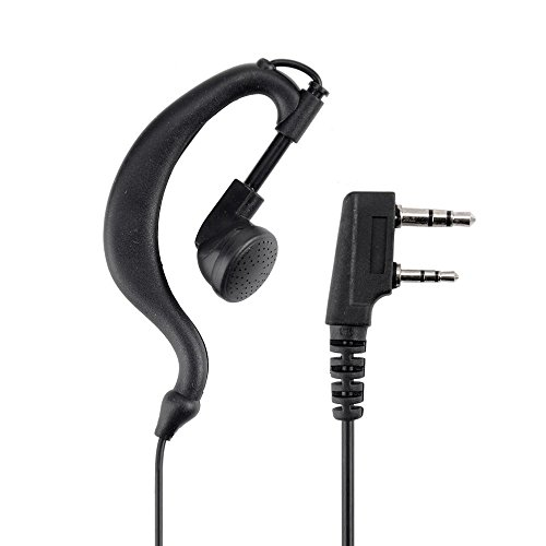 Baofeng Black PTT Earpiece Earphone Headset Mic for Baofeng UV-5X 5R TYT Ham Two-way Radio Walkie Talkie Transceiver