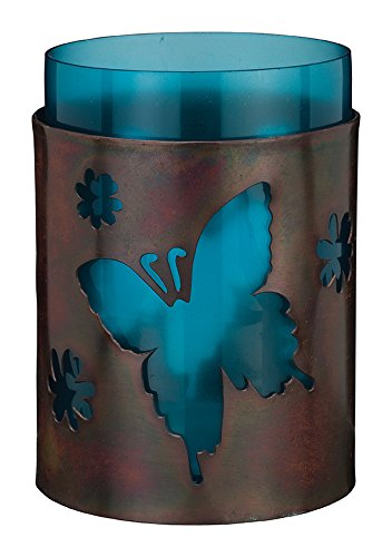 Regal Art & Gift 3.25 inches x 3.25 inches x 5.5 inches Butterfly Bronze Candleholder Home Decor from Regal Art & Gift