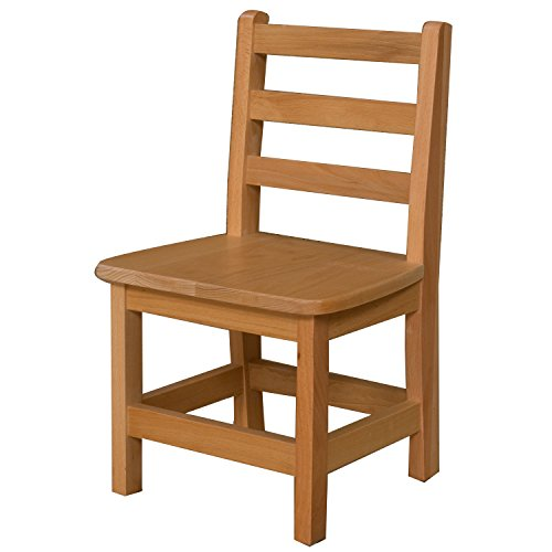 Wood Designs WD81201 Child's Chair, 12'' Height Seat, (1) Per Carton by Wood Designs