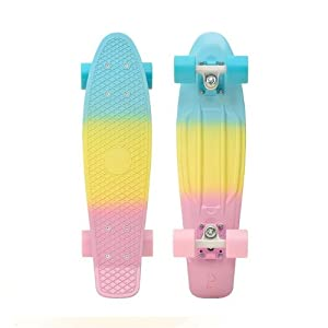 """Penny Complete 2014 22"""" Skateboards (Fade Pastel Pink / Yellow / Blue) from Penny"""
