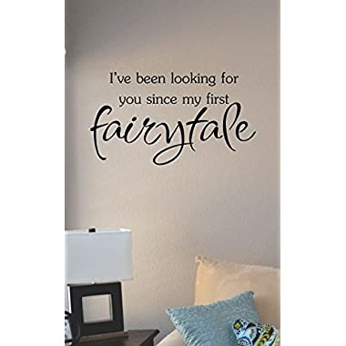 I've been looking for you since my first fairytale Vinyl Wall Art Decal Sticker