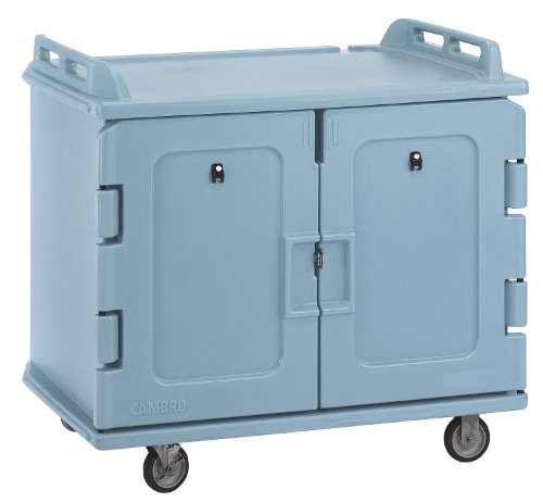 Cambro - EAMDC1418S20401 - Meal Delivery Cart, 48 1/2x32 1/2x44, Blue Cambro Meal Delivery Cart