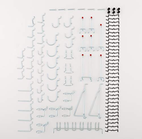 National Hardware S819-841 CD8377 51 Piece Peg Board Hook Kit in Zinc