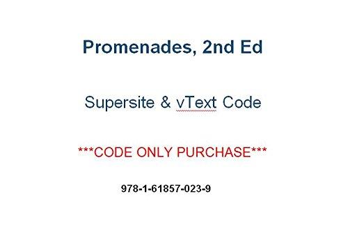 Promenades 2nd (2014) Supersite PLUS Code (Supersite Plus & vtext) - CODE ONLY