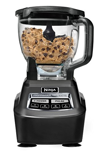 Ninja Mega Kitchen System (BL770) Blender/Food Processor with 1500W Auto-iQ Base, 72oz Pitcher, 64oz Processor Bowl, (2) 16oz Cup for Smoothies, Dough & More 3 72 ounce total crushing pitcher pulverizes ice to snow in seconds for creamy frozen drinks and smoothies; 2 horsepower Eight cup food processor bowl provides perfect, even chopping and makes up to 2 pounds of dough in 30 seconds Two 16 ounce Nutri Ninja cups with to go lids are perfect for creating personalized, nutrient rich drinks to take on the go