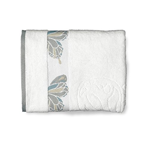 - Shell Rummel 3 Piece Butterfly Towel Set, White, 3