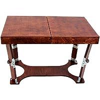 Spiderlegs Folding Coffee Table, 28-Inch, Mahogany