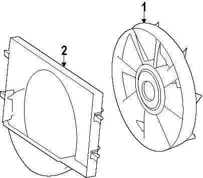 Amazon Com Mercedes Benz 000 200 73 23 Engine Cooling Fan Blade