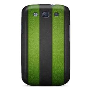 New Cute Funny Stripe Wall Case Cover/ Galaxy S3 Case Cover