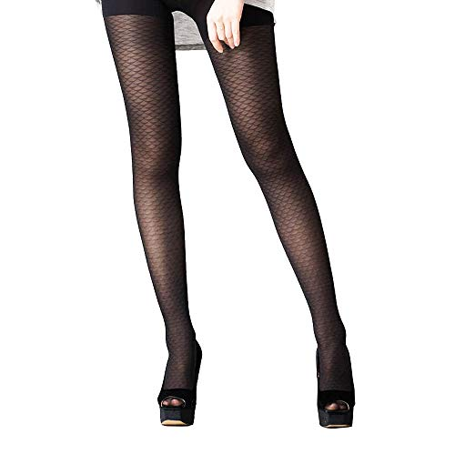 (WEANMIX 1 Pair Women's Silk Stockings Tights Mesh Stockings Pantyhose Control Top )