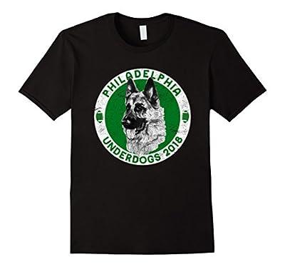 Philadelphia Underdogs 2018 Distressed Look Funny T-Shirt