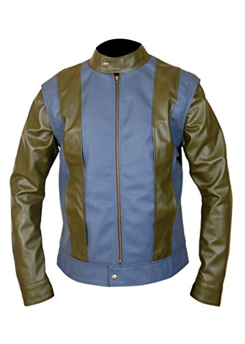 F&H Boy's Genuine Leather X-Men Apocalypse Scott Summers Cyclops Jacket M Multi by Flesh & Hide