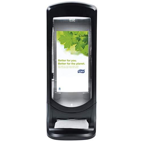 (Tork SCA Tork 6332000 Xpressnap Signature Stand Napkin Dispenser, Black Licorice)