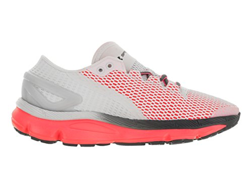 Under Armour Speedform Gemini 2.1 Womens Zapatillas Para Correr - AW16 Glacier Gray/Pink Chroma/Stealth Gray