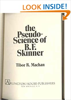 Book The Pseudo-Science of B. F. Skinner