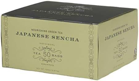 Harney & Sons Japanese Sencha Green Tea, 50 Tea Bags