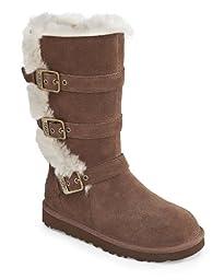UGG Australia Infants\' Maddi Shearling Boots,Chocolate