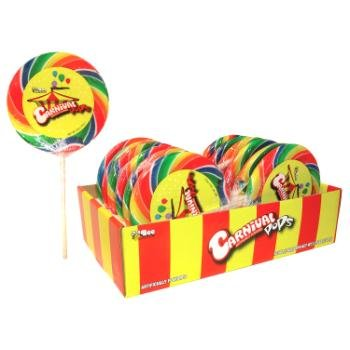 Giant Carnival Lollipop Case Pack 36