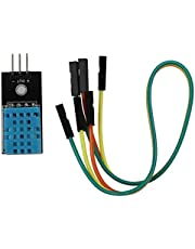nbvmngjhjlkjlUK Módulo de Sensor de Temperatura y Humedad Relativa Dht11 para el Sensor Dht11 Arduino adopta (Negro)
