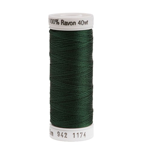 Sulky Rayon Thread for Sewing, 250-Yard, Dark Pine Green