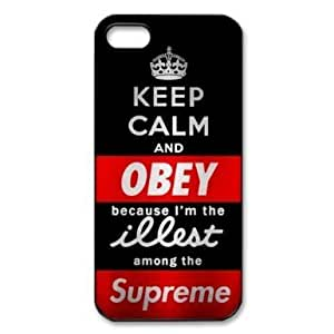 Custom Hard Keep Calm And Love One Direction 1D iPhone 5 Cover, Snap On Keep Calm And Love One Direction 1D iPhone 5 Case by Maris's Diary