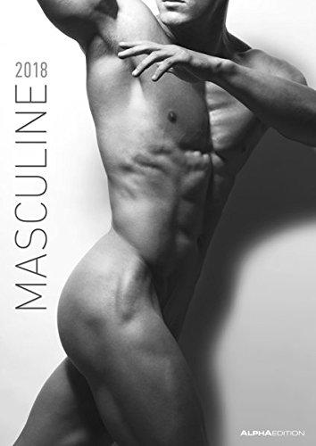 masculine-2018-men-bildkalender-a3-schwarz-weiss-erotikkalender