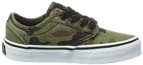 Vans Y ATWOOD (CAMO) ARMY/BLA - Zapatillas de lona para niño multicolor - Mehrfarbig ((Camo) army/bla / DD1)