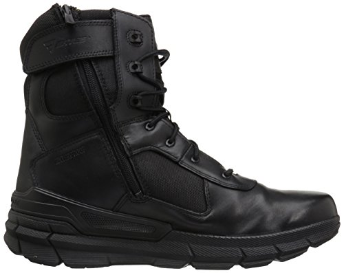 Bates Mens Rage Side Zip Military and Tactical Boot Black D638at