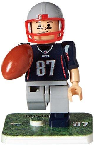 OYO NFL New England Patriots Gen4 Limited Edition Rob Gronkowski Mini Figure, Small, White
