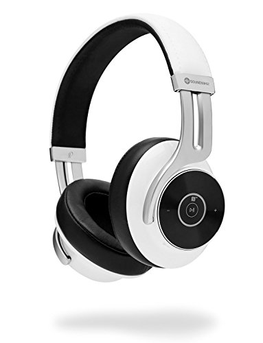 Over Ear Bluetooth Headphones   Soundwhiz  Innovative Semi Open Back On Ear Hybrid Wireless Headphones With Mic  Dual Pairing  Aptx