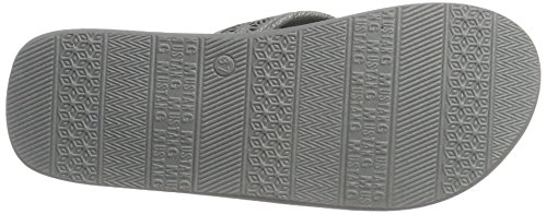 Mustang 1243-701-2, Sandalias de Punta Descubierta para Mujer Gris (2 Grau)