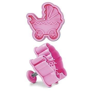Städter extrusora de bebé con moldes para galletas, diseño: carrito: Amazon.es: Hogar