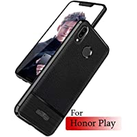 Mobistyle 9H Tempered Glass & 1 Matte TPU Back Cover For Huawei Honor Play