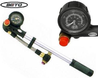 Beto MP-035 Gabelpumpe Dämpferpumpe mit Manometer