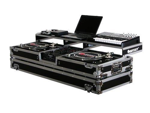 Odyssey FZGSPDJ10W Remixer Glide Turntable Coffi Reguar 10 Inch DJ Mixer Coffin