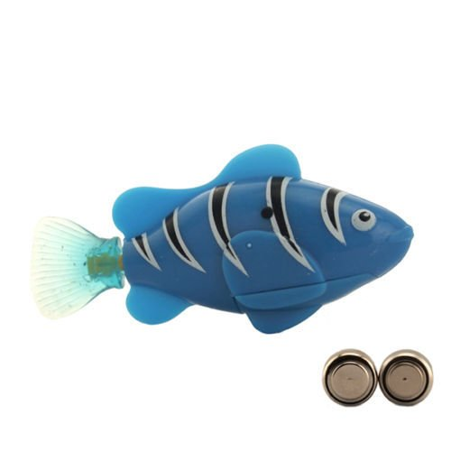 Carejoy® Baby Toy Swimming Robot Fish Activated in Water Magical Electronic Toy Kids Children Gift