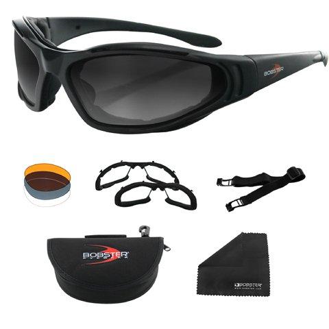 Bobster Raptor II Interchangeable Sunglasses - One Size