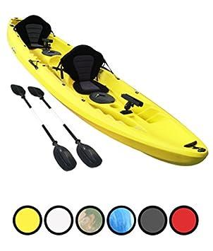 Bluefin Kayak de Pesca con 2+1 Asientos tándem, Soportes para caña ...