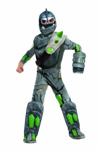 Skylanders Giants Deluxe Crusher Costume, Large (Skylander Costumes For Boys)