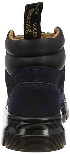 Dr. Martens Rakim, Stivali da Motociclista Unisex-Adulto Blu (Indigo/Dress Blues Rhombus Nylon Mesh/Hi Suede Wp)