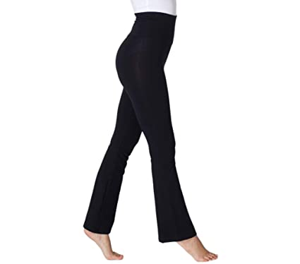 325c80051c469f ALLUSIVE Black Bootcut Yoga Pants, Women's Motivation Long Flare Leggings,  Extra Comfortable Workout Gym