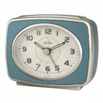 Acctim-13879-Retro-2-Reloj-con-alarma-color-azul