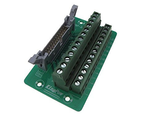 IDC26 26-Pin Connector Signals Breakout Board Screw terminals Din